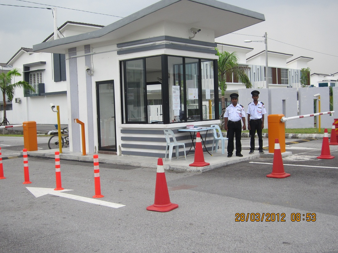 Taman putra prima 8a guard house building plan had been for Guard house design layout