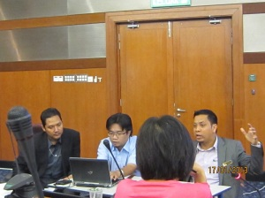 PTG officers in session